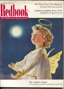 Redbook 12/1952-McCall-Christmas issue-magazine for young adults-legalized ga...