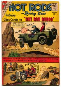Hot Rods and Racing Cars #49 1960- Clint Curtis G-