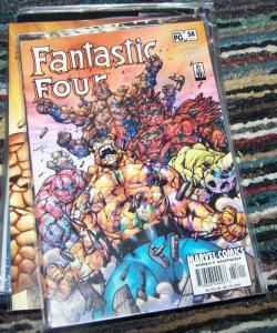 FANTASTIC FOUR #58  (487)   2002   marvel   things BEN GRIMM