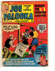 Joe Palooka Comics Monthly # 64 VG Comic Book Russian Curtain Ham Fisher JL17