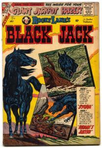 Rocky Lane's Black Jack #28 1959- Ditko art- Western VG
