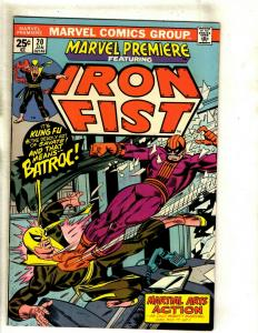 Marvel Premiere # 20 VF Comic Book Feat. Iron Fist Karate Defenders RS1