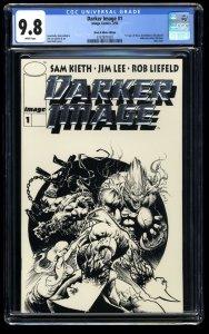 Darker Image #1 CGC NM/M 9.8 1st Maxx! Black and White Variant Edition!
