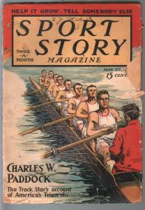 Sport Story 5/22/1925-F A Carter cover-boxing-baseball-Raoul Whitfield-G