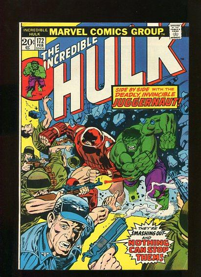 HULK  #173  9.4   (1974)  WHITE PAGES SUPER HIGH GRADE BEAUTY