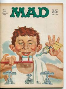MAD Magazine #109 1967-Norman Mingo-Drucker-Berg-Jacobs-VF