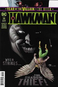 Hawkman (2018 series) #14, NM + (Stock photo)