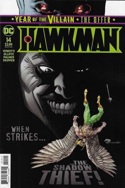 Hawkman (2018 series) #14, NM + (Stock photo)
