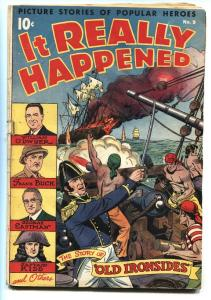 It Really Happened #9 1947-Nedor-Alex Schomburg-Capt Kidd-George Eastman-VG