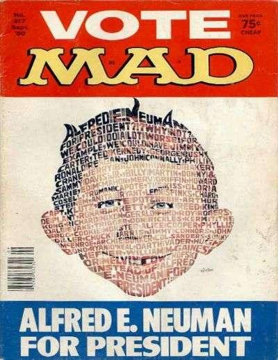 Mad (1952 series) #217, VG (Stock photo)