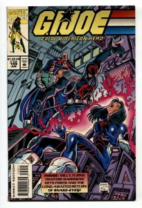 G.I. JOE #149 1994- late issue low print run- Snake Eyes NM-
