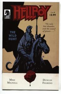 Hellboy: The Wild Hunt #1  comic book 2008- Dark Horse NM-