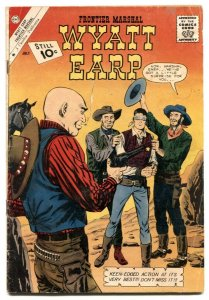 Wyatt Earp Frontier Marshall #37 1961- Charlton western comic VG