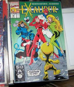 Excalibur # 42  OCT 1991, Marvel  x men PHOENIX NIGHTCRAWLER KITTTY CAPTAIN BRIT
