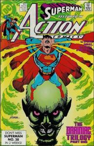DC ACTION COMICS (1938 Series) #647 VF