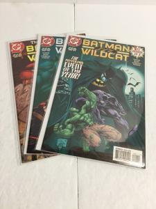 Batman Wildcat 1-3 Lot Set Run Nm Near Mint DC Comics IK