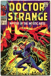 DOCTOR STRANGE #171, VF-, Mystic Arts, Tom Palmer,1968, more DS in store
