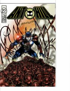 Ant Hill (2011) 2 NM (9.4) Signed in Gold Rare
