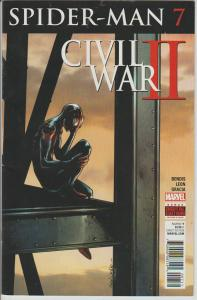 AMAZING SPIDER-MAN #7 - CIVIL WAR 2, MARVEL COMICS, BAGGED & BOARDED