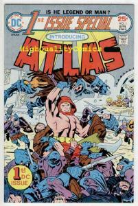 1st ISSUE SPECIAL #1, VF to NM, Jack Kirby, First, Atlas, 1975, more JK in store