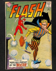 Flash #142 VG- 3.5 Trickster!