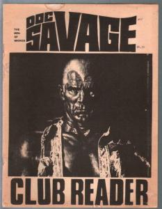 Doc Savage Club Reader #12 3/1980-Doc Savage info-pulp heroes-VG
