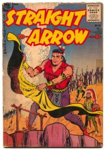 Straight Arrow #49 1955- Western G