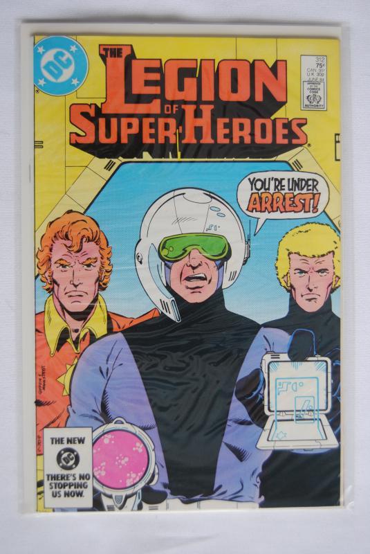 Legion of Super-Heroes 312