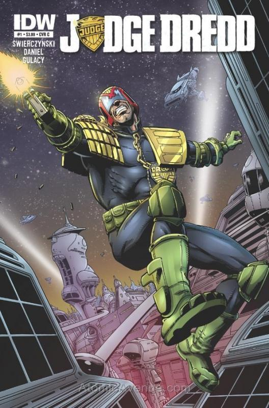 Judge Dredd (4th Series) #1C VF/NM; IDW | save on shipping - details inside
