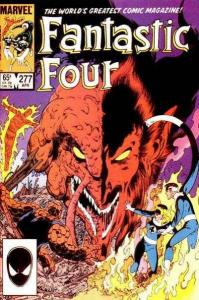 Fantastic Four (1961 series) #277, VF+ (Stock photo)