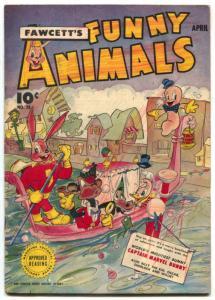 Fawcett's Funny Animals #28 1945-Hoppy The Marvel Bunny- G