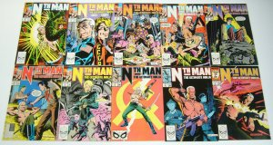 Nth Man: the Ultimate Ninja #1-16 FN/VF/NM complete series larry hama galactus?!
