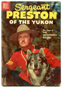 Sergeant Preston of the Yukon #21 1957 -Dell Western RCMP G