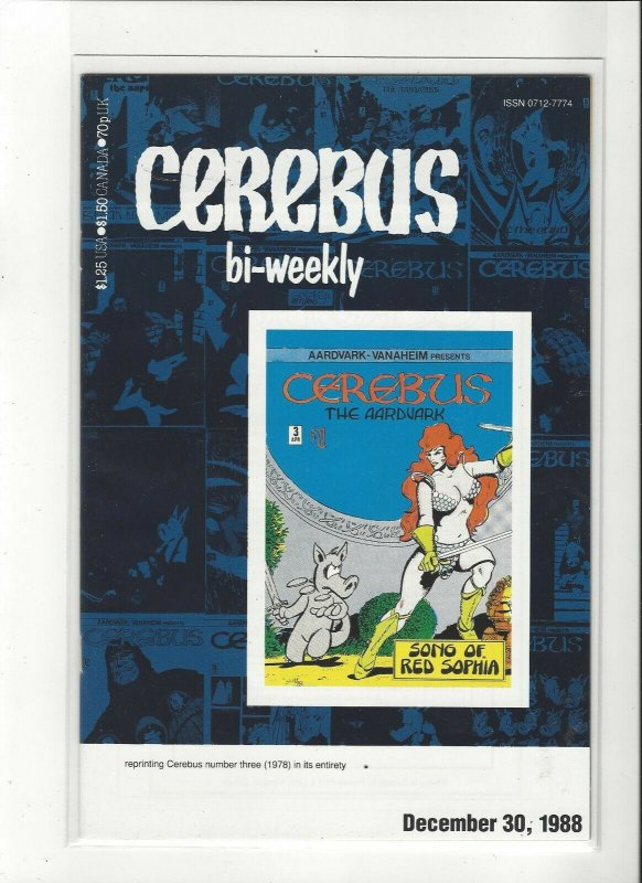 Cerebus Bi-Weekly #3 NM
