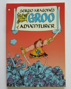 The Groo Adventurer TPB Softcover VF+ Epic 1st Print 1990 Sergio Aragone's