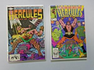 Hercules Two Sets - 1st and 2nd Series - 8 diff books - see pics - 8.0 - 1982-4