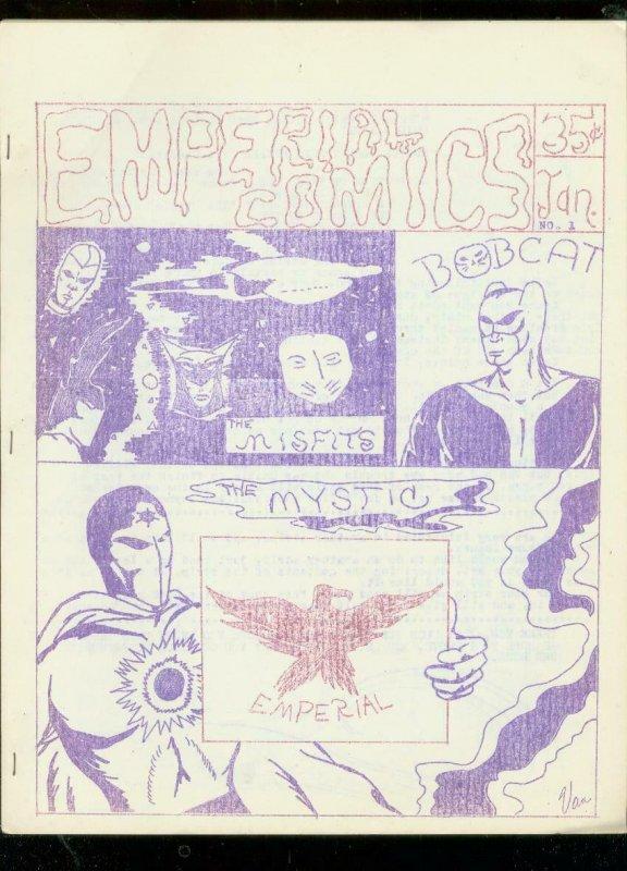 EMPERIAL FANZINE #1-ORIGINAL AMATURE COMIC STRIPS-1968 FN