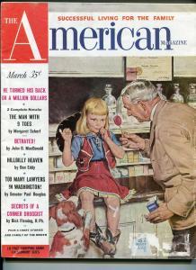 AMERICAN 3/1951- PULP FICTION-JOHN D MACDONALD-vg