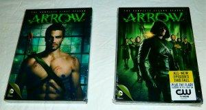 Arrow Season 1-2 (DVD set)