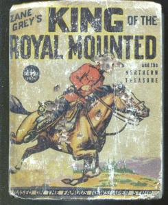 King of The Royal Mounted #1179 1937-Zane Grey-Big Little Book-P/FR