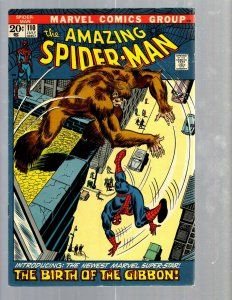 Amazing Spider-Man # 110 FN Marvel Comic Book MJ Vulture Goblin Scorpion TJ1