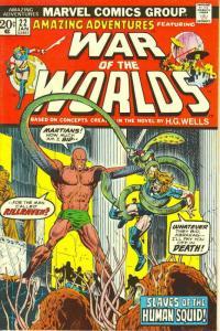 Amazing Adventures (3rd Series) #22 VG; Marvel | low grade comic - save on shipp