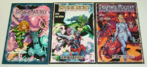 Divine Right Collected Edition TPB #1-3 VF/NM complete series - jim lee set 2