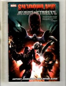 Blood In The Streets Shadowland Marvel Comics TPB Graphic Novel Comic Book J361