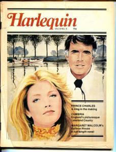 Harlequin Vol.6 #5 1978-romantic pulp- paperback based-Prince Charles-FR/G