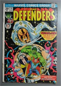The Defenders (1972) #14  F/Better    Actual Photo