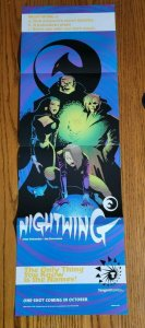 11 x 34 Tangent Nightwing Promo Poster NO PIN HOLES NEW