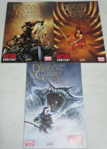TALES OF THE DRAGON GUARD INTO THE VEIL (2010) 1-3 3