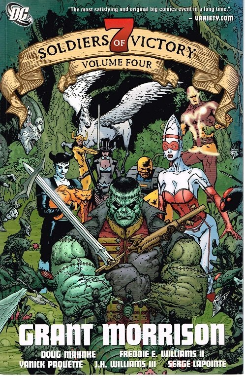 Seven Soldiers of Victory #4 (2007)