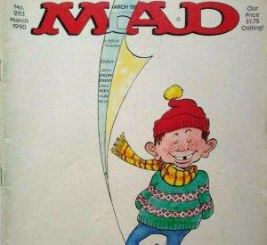 MAD Magazine March 1990 No 293 Lethal Weapon Movie Satire Parody Mel Gibson